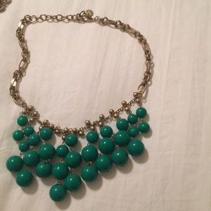 Stella and Dot Green Necklace